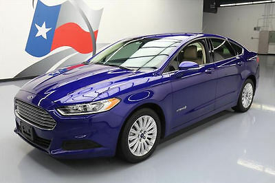 2014 Ford Fusion SE Hybrid Sedan 4-Door 2014 FORD FUSION SE HYBRID CRUISE CTRL ALLOY WHEELS 42K #272299 Texas Direct