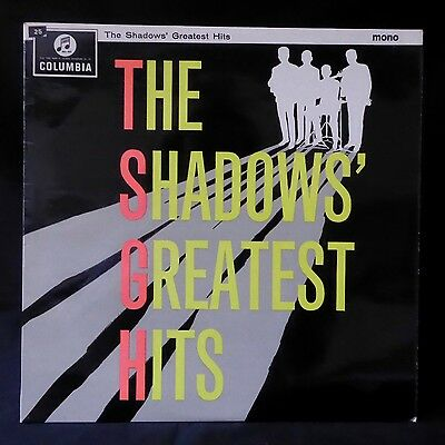 THE SHADOWS Greatest Hits UK 1st SMALL MONO COLUMBIA LP EX
