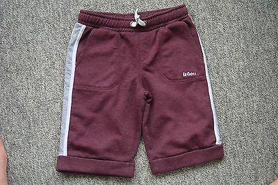 Boys Lee Cooper Jersey Shorts age 13 years hardly worn
