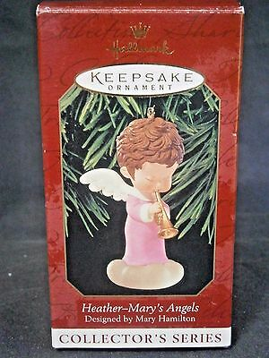 """Hallmark Mary's Angels """"heather"""" Ornament 12Th In Series"""