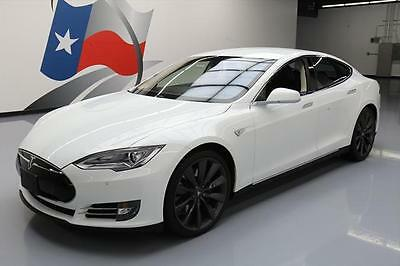 2013 Tesla Model S  2013 TESLA MODEL S P85+ PERFORMANCE TECH NAV 21'S 13K #P24437 Texas Direct Auto