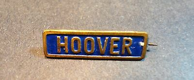 """1928 Pin Button Pinback Herbert Hoover President Campaign Stamped Tin 7/8"""""""