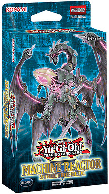 Machine Reactor Structure Deck Yugioh New Factory Sealed Pack