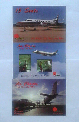 Airline-Issued Postcard Set / Sunbird Air Services