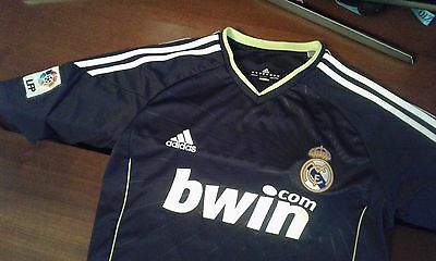 Maglia Shirt Camiseta Official Adidas Real Madrid Xavi 10 Patches Liga Lfp Black