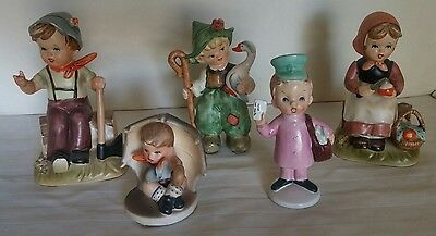 Mixed Lot Goebel Hummel & Other Figurines Collection