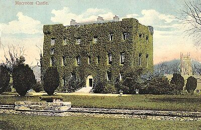 po irish postcard ireland cork macroom castle