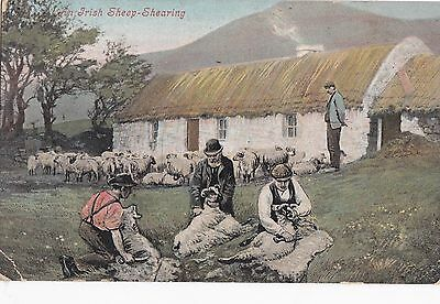 po irish life postcard ireland