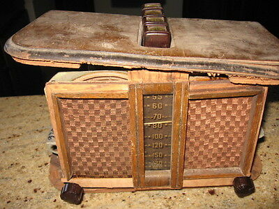 Crosley 529D tube radio chassis for parts