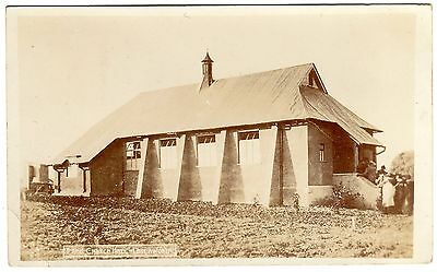 Animated R.p. Postcard Congregation-Free Church Hall-Letchworth Village 1908