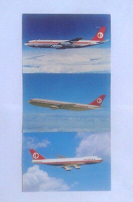 Airline-Issued Postcard Set / Mas / Malaysian Airline System