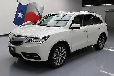 2014 Acura MDX  2014 ACURA MDX SH-AWD TECH SUNROOF NAV HTD SEATS 41K MI #037645 Texas Direct