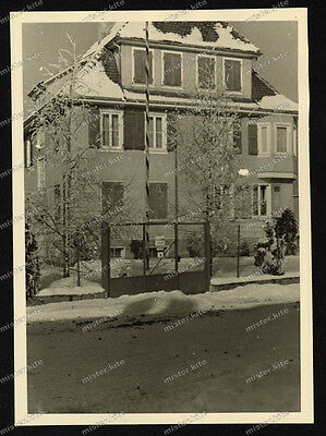 Foto-Winterlingen-Albstadt-Gebäude-Architektur-Schnee-Winter-1941-42