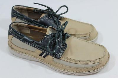clarks men's waterloo classic boat shoes