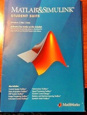 MATLAB And Simulink Student Suite BRAND NEW