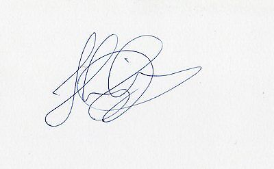 Swansea/Scotland Stephen Kingsley HAND SIGNED card