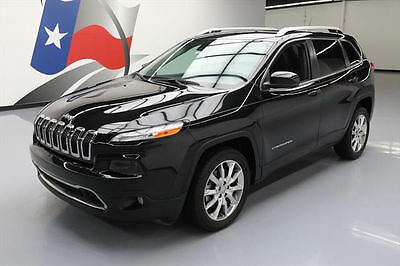 2014 Jeep Cherokee  2014 JEEP CHEROKEE LIMITED HTD LEATHER NAV REAR CAM 20K #103871 Texas Direct