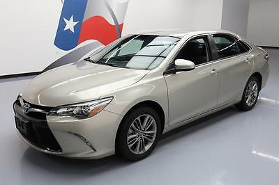 2016 Toyota Camry  2016 TOYOTA CAMRY SE AUTO BLUETOOTH REAR CAM ALLOYS 27K #125543 Texas Direct