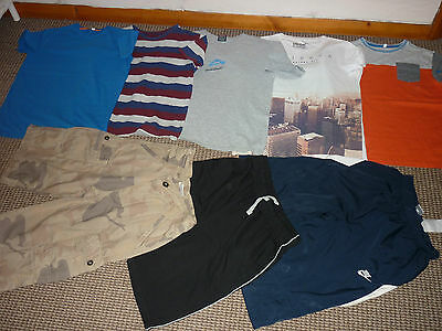 Bundle Boys Clothes age 11-12yrs Quiksilver Nike  Shorts and T-shirts