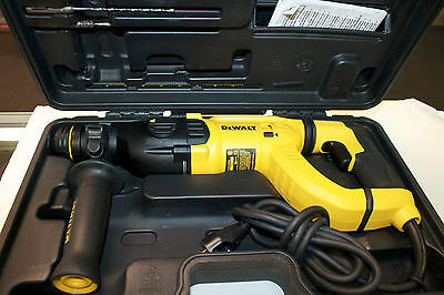 DeWalt D25262 3 Mode SDS Handle Corded Rotary Hammer Drill MINT