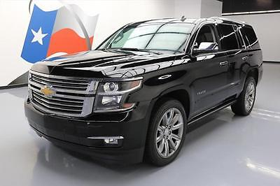 2015 Chevrolet Tahoe LTZ Sport Utility 4-Door 2015 CHEVY TAHOE LTZ 4X4 7PASS SUNROOF NAV DVD 22'S 38K #222454 Texas Direct
