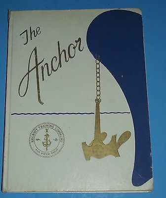 Yearbook 1980 The Anchor Recruit Naval Training Book San Diego, Ca. Navy Annual