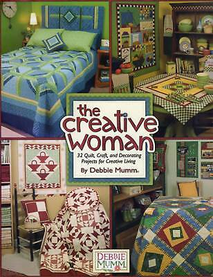 Quilting Pattern Book The Creative Woman 32 Quilt Craft Decorating Projects