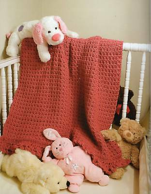 Crochet Pattern Book Crochet Baby Afghans By The Pound 10 Designs