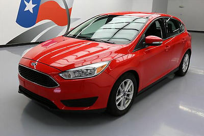 2016 Ford Focus  2016 FORD FOCUS SE HATCHBACK CRUISE CTRL REAR CAM 34K #286635 Texas Direct Auto