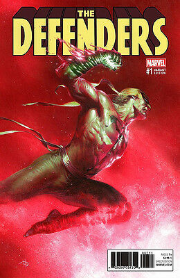DEFENDERS #1 Gabriele Dell'Otto Colour Variant Cover Marvel Comics 1st Print NM