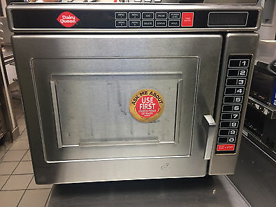 Amana Commercial Programmable Microwave Oven 2200 Watts