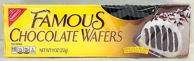 Nabisco Famous Chocolate Wafers 9 oz