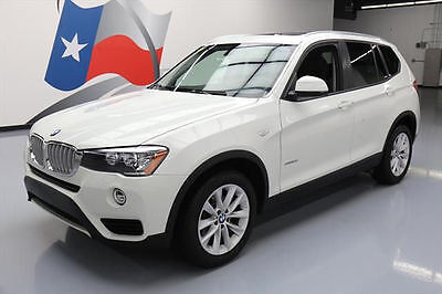 2017 BMW X3 sDrive28i Sport Utility 4-Door 2017 BMW X3 SDRIVE28I PANO SUNROOF NAV PWR LIFTGATE 20K #T43910 Texas Direct