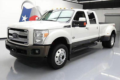 2016 Ford F-450  2016 FORD F-450 KING RANCH CREW 4X4 FX4 DIESEL NAV 16K #A70607 Texas Direct Auto