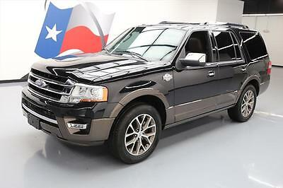 2015 Ford Expedition  2015 FORD EXPEDITION KING RANCH ECOBOOST SUNROOF NAV 6K #F43030 Texas Direct
