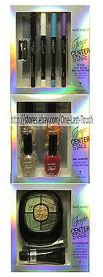 WET N WILD Center Stage FERGIE Eye Shadow+Liner+Nail Polish Set *YOU CHOOSE* New