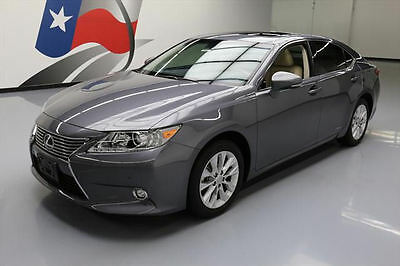 2014 Lexus ES Base Sedan 4-Door 2014 LEXUS ES300H HYBRID SUNROOF NAV REARVIEW CAM 45K #057984 Texas Direct Auto