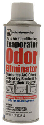 Interdynamics OE1 Air Conditining Evaporator Odor Eliminator R134a 8oz