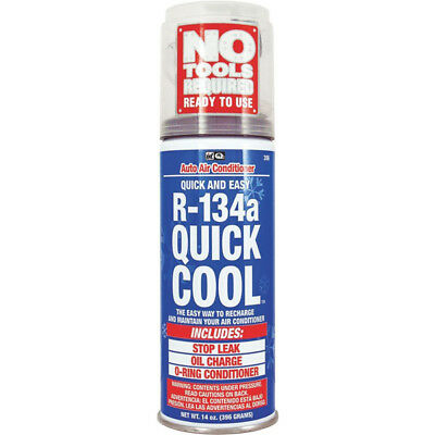 Interdynamics 306, Quick Cool Recharge Refrigerant For R-134a 14oz