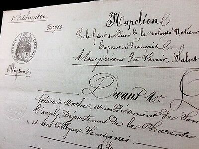 Very Old Document 1860