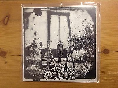 "ROTTING CHRIST - THE Other Side Of Life 7"" - MINT Black Nightfall Septic Floga"