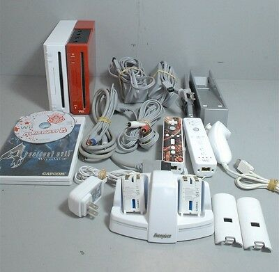 #1 Nintendo Wii Console (Lot of 2) Bundle w/ Cables & 2 Games Working