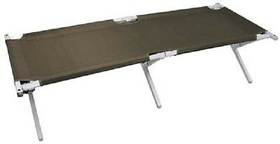 US Army GI Issue Military Army Aluminium Folding cot Camp cot Bed