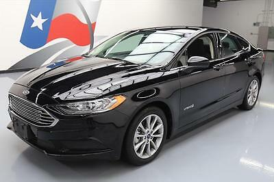 2017 Ford Fusion SE Hybrid Sedan 4-Door 2017 FORD FUSION SE HYBRID REAR CAM BLUETOOTH 14K MILES #181723 Texas Direct