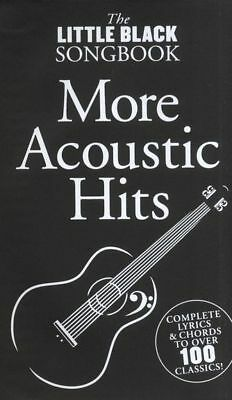 The Little Black Song Book More Acoustic Hits 100 Songs Songbook Chords  Lyrics
