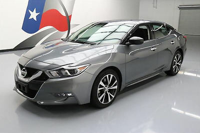 2016 Nissan Maxima  2016 NISSAN MAXIMA 3.5 S NAV REAR CAM BLUETOOTH 34K MI #437081 Texas Direct Auto