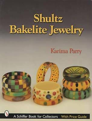 Shultz Bakelite Jewelry Collector Price ID Guide - Bracelets Bangles Pins & More