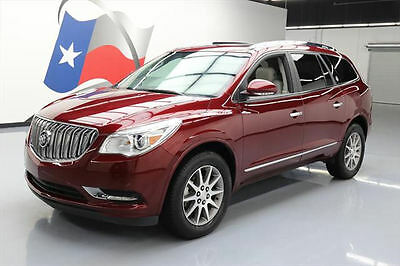 2017 Buick Enclave Leather Sport Utility 4-Door 2017 BUICK ENCLAVE LEATHER DUAL SUNROOF REAR CAM 17K MI #173399 Texas Direct