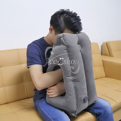 New Inflatable Air Cushion Neck Comfortable Support Pillow for Travel Airplanes