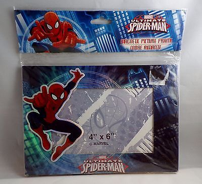 "Marvel Ultimate Spider-Man - Magnetic Picture Frame 4"" X 6"" 3D Colorful"